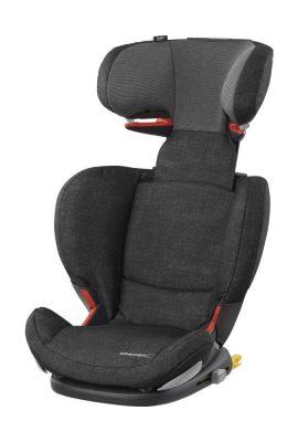 Bébé Confort RodiFix AirProtect Seggiolino Auto 15-36 kg, Gruppo 2/3 per Bambini dai 3.5 ai 12 Anni, Reclinabile, Isofix, Nero (Nomad Black)